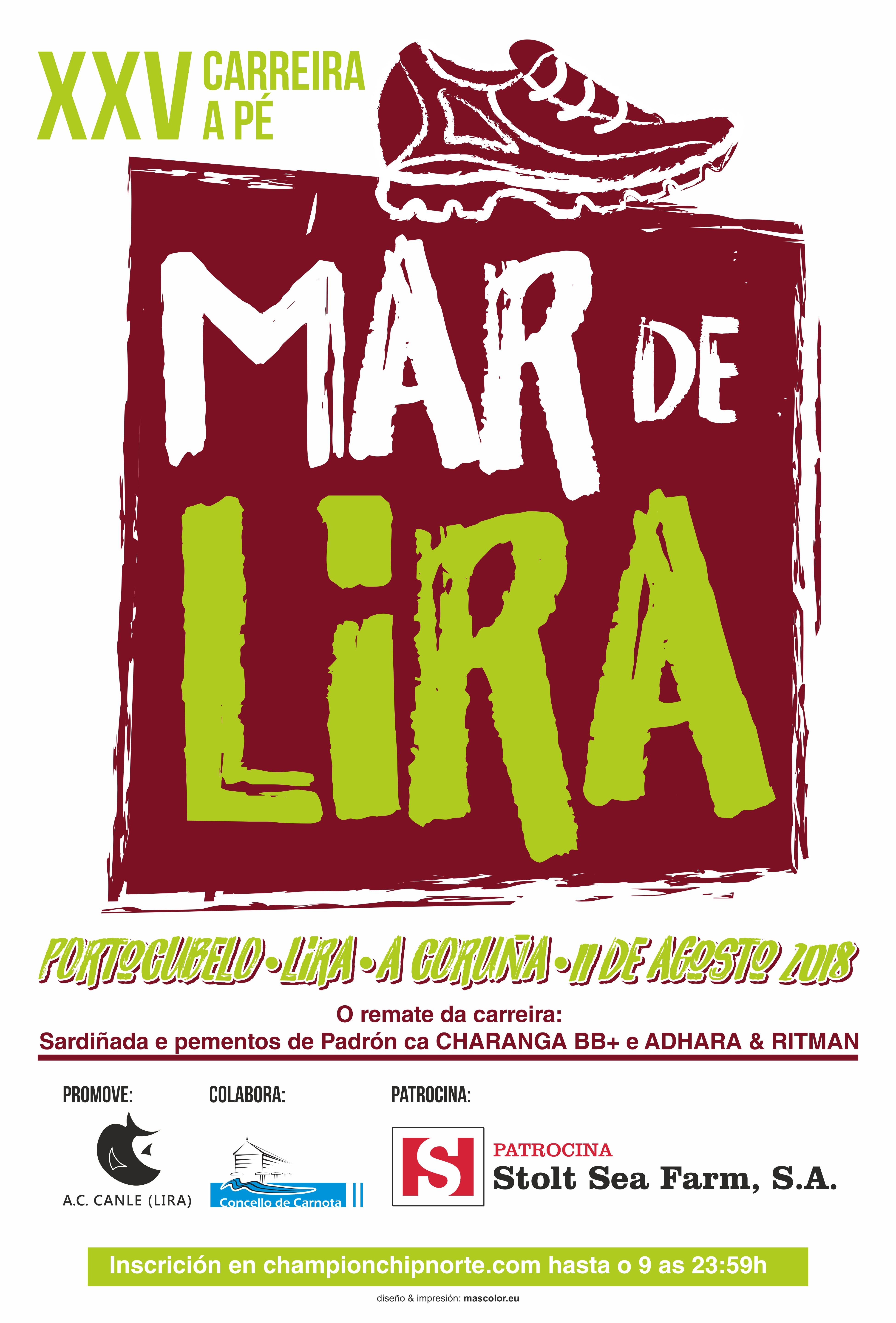 CARTEL CARREIRA 2018 LIRA